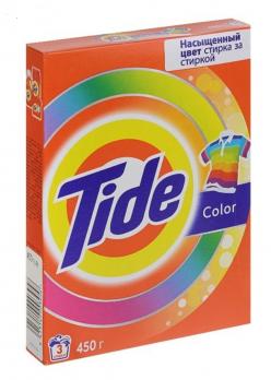 Tide Стиральный порошок Color 450г