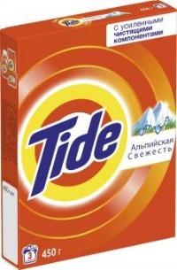 Tide Стиральный порошок Альпийская свежесть 450г