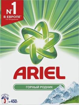 Ariel Стиральный порошок Горный родник 450г