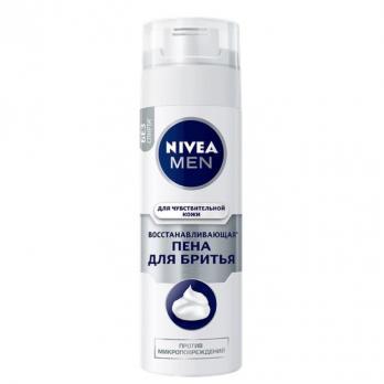 Nivea Men Пена для бритья Восстанавливающая 200мл